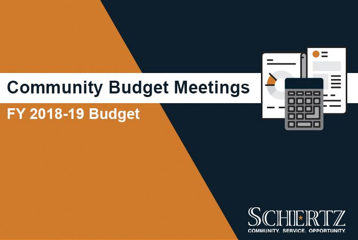 Community Budget Meeting Web Graphic