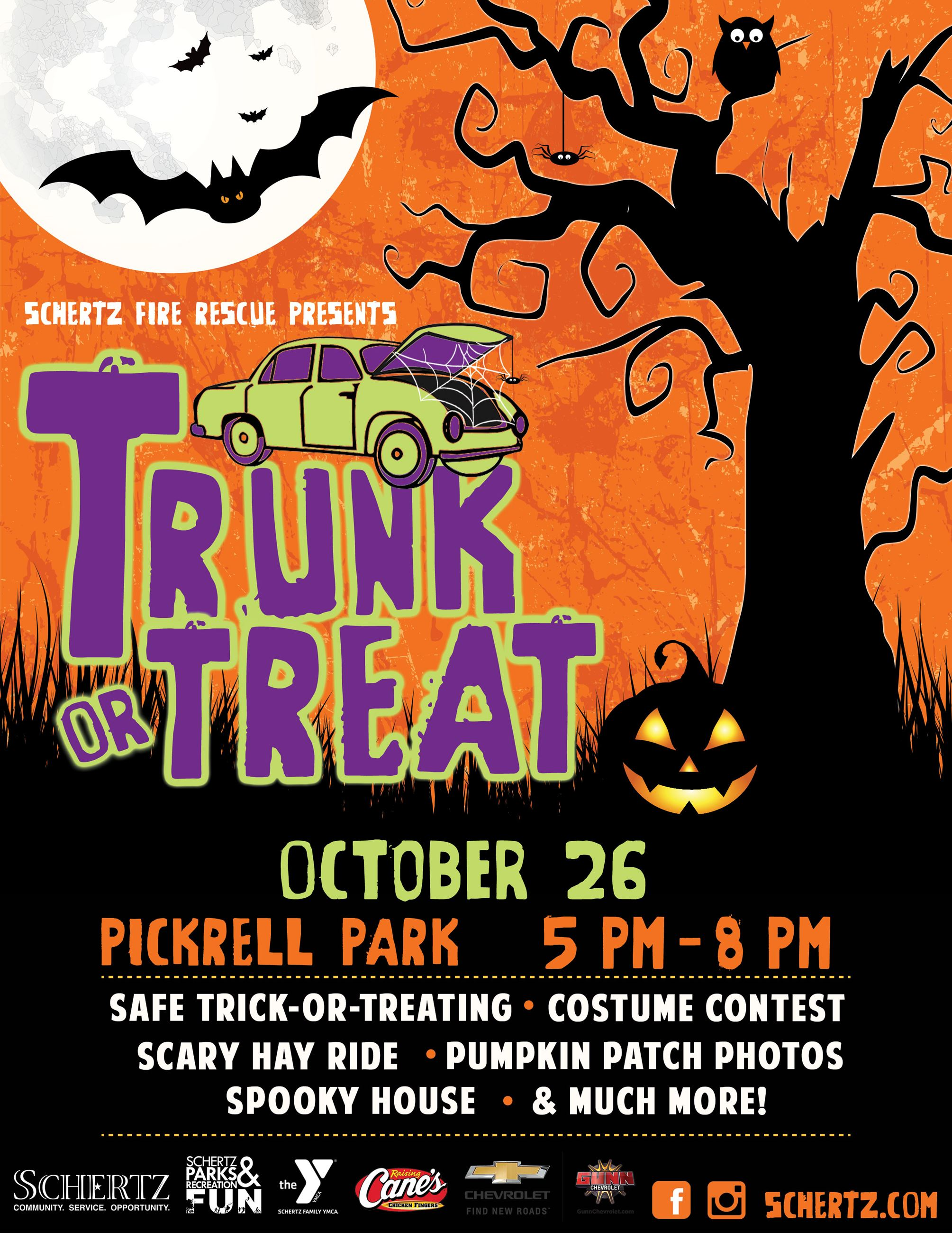 Trunk or Treat Flyer 2019