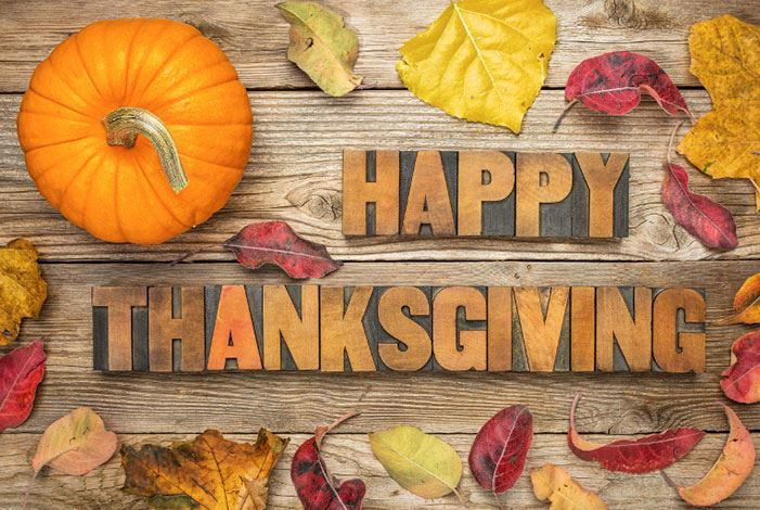 Thanksgiving Office Closures