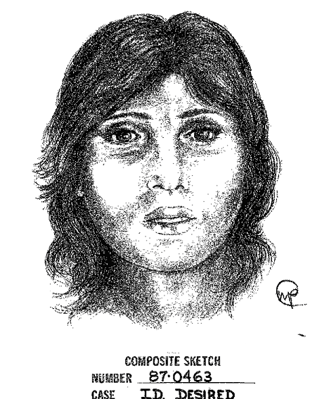 Unidentified Female Composite Sketch