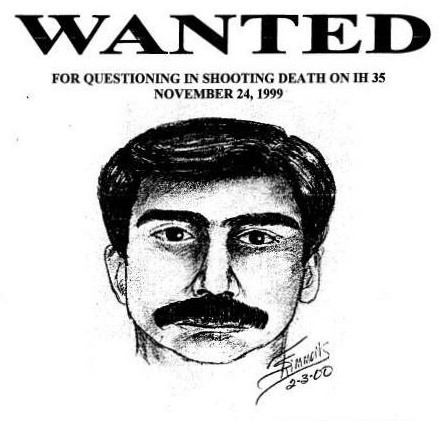 Composite Sketch of Wanted Man