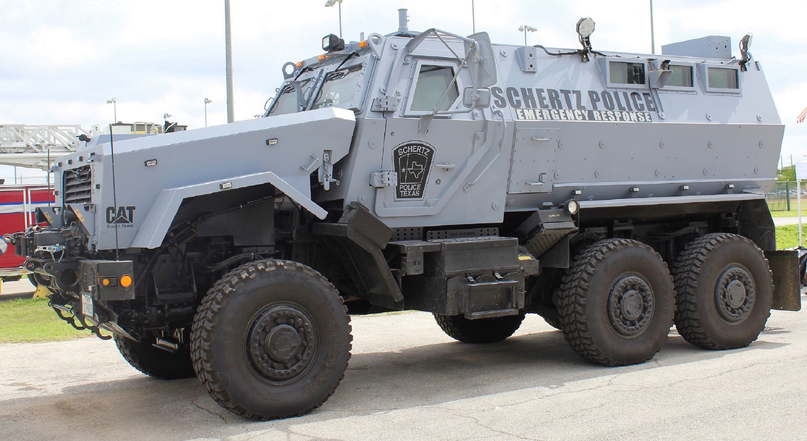 Schertz Police Emergency Response Vehicle