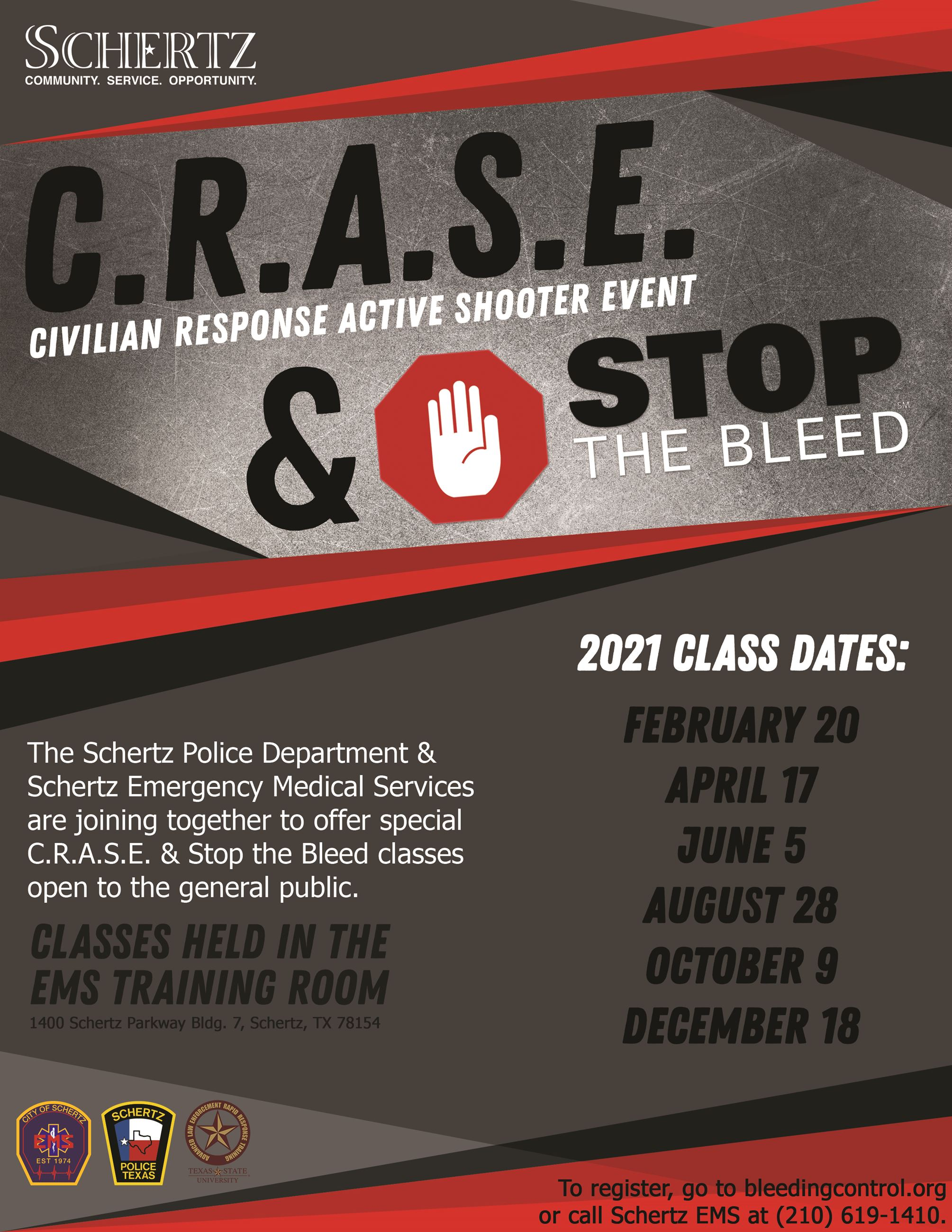 CRASE Stop the Bleed 2021