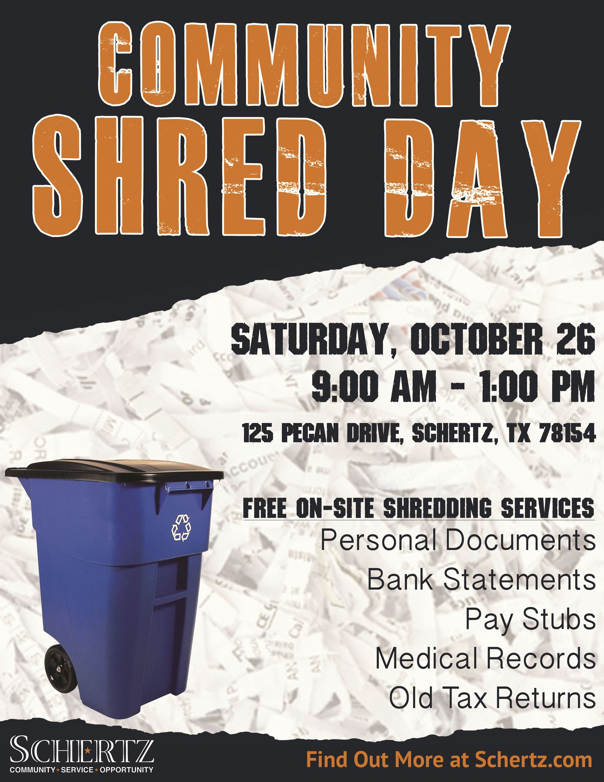 Shred Day Fall 2019