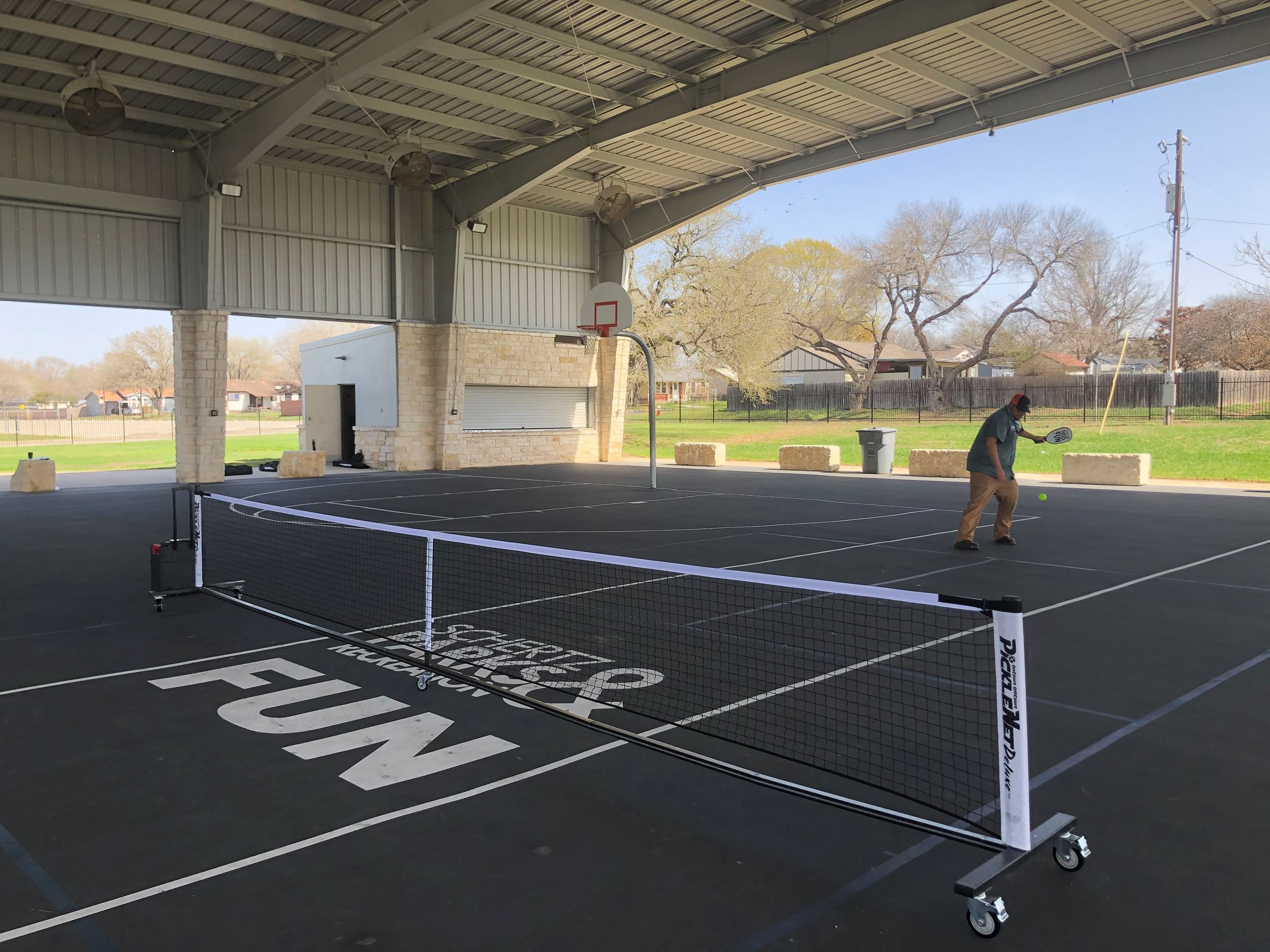 Pickleball Large Pavilion